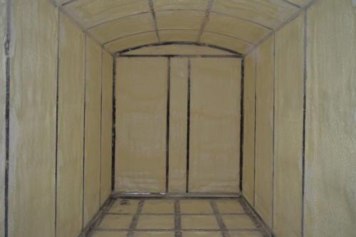 2. Гидроизоляция теплоизоляция вагона пенополиуретаном ППУ