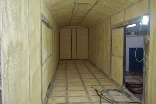 1. Гидроизоляция теплоизоляция вагона пенополиуретаном ППУ